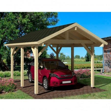 Pérgola Techada Robert  11,7 m² - Ideal para vehiculos