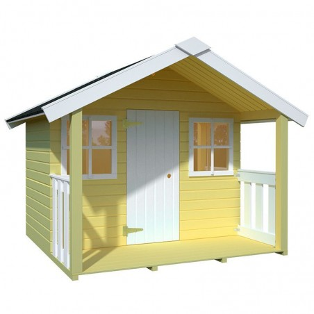 Casita infantil Félix 1,9 m²  | Casita de madera niños 180x112 cm