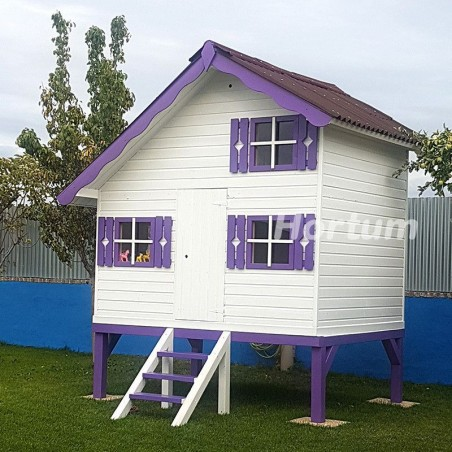 Casita infantil Tom, 220 x 180 cm - Modificada, en altura