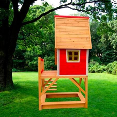 Casita de madera infantil para jardín Pinocho