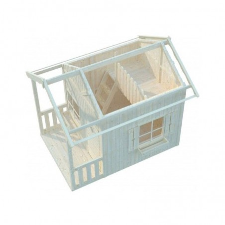 Interior casita infantil Elina, 175x180 (250 cm)
