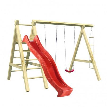 Parque infantil Sofia 360x200x230cm | Parque infantil de madera