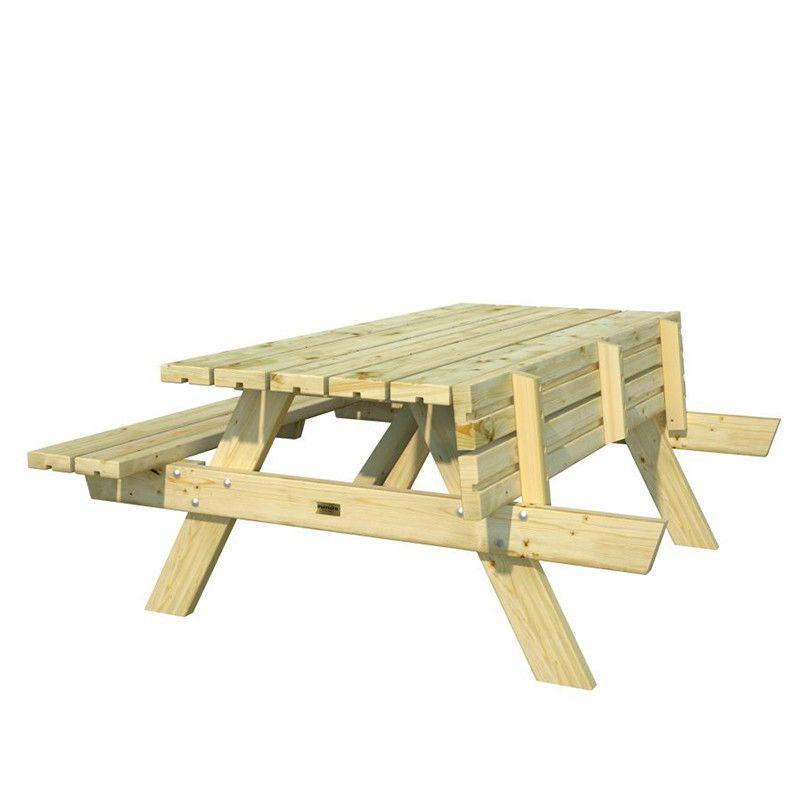 Mesa de madera picnic Ruby 18.