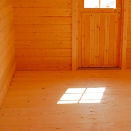 Suelo para caseta de madera klara 10,04 m²