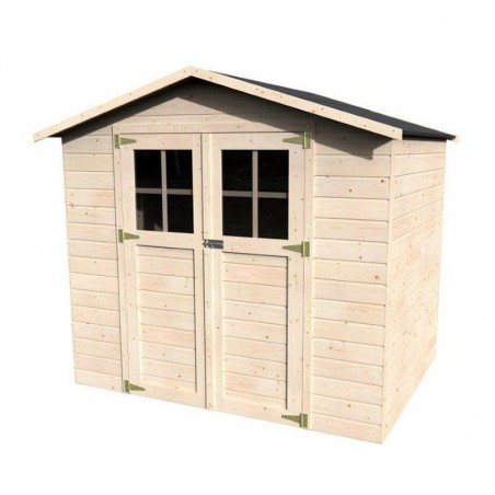 Caseta de madera para jardín Lodeo. 12 mm, 210 x 160 cm, 3.4 m²