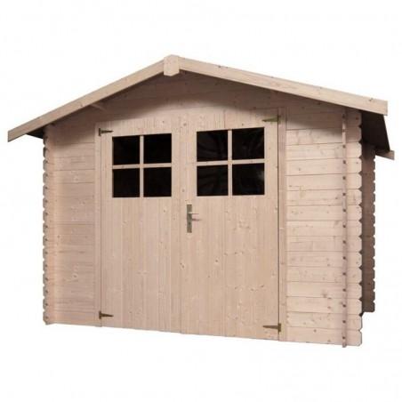 Caseta de madera para jardín Miloman 19mm, 270 x 200 cm, 5.33 m²