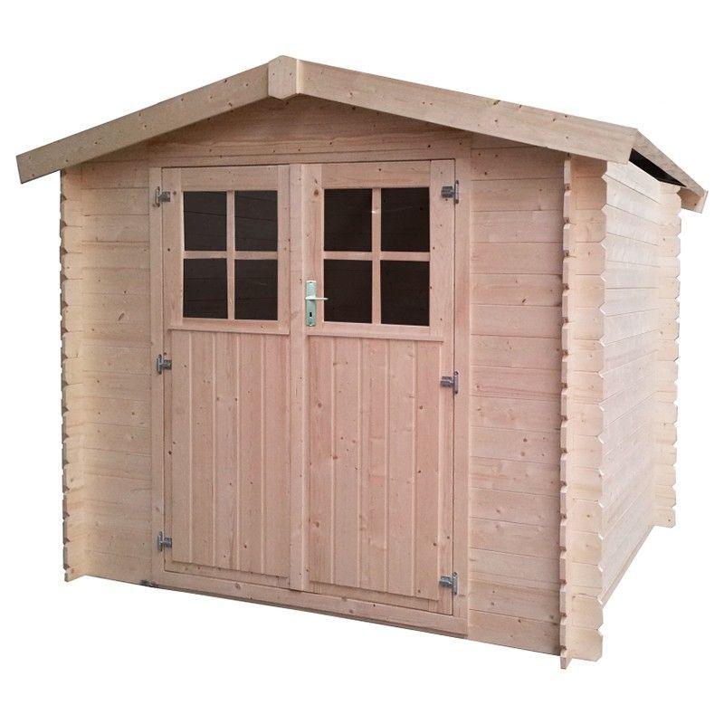 Caseta de madera para jardín Malo - 19 mm. 233 x 215 cm, 5 m²