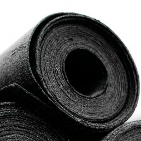 7 Rollos de tela asfáltica de 10 m para casetas de maderas