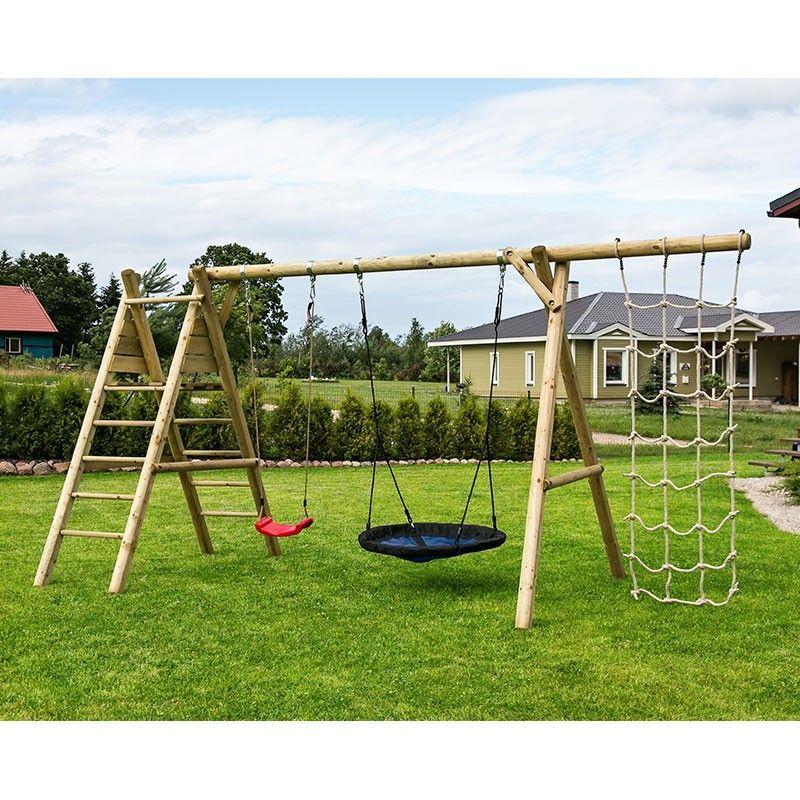 Parque infantil madera Kalev sin tobogán