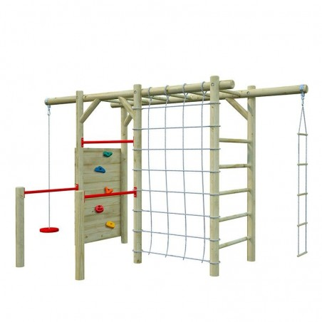 Parque infantil de madera para jardín Merit 361 x 204 x 220 cm