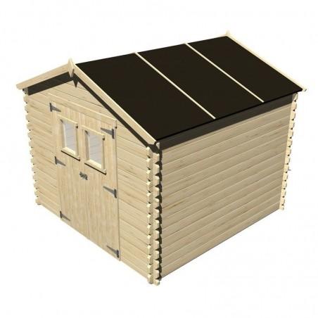 Caseta de madera Dimitri 19 mm 266 x 256 cm, 6,8 m²