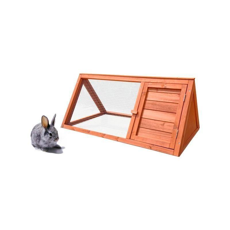 Conejera de madera Bunny. 15mm, 97x50 cm