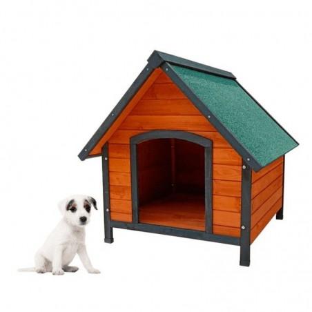 Casita de madera para perros