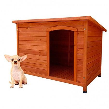 Caseta de madera para perros Sugar 85 x 58 x 58 cm