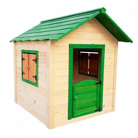 Casita de madera infantil Kela Verde