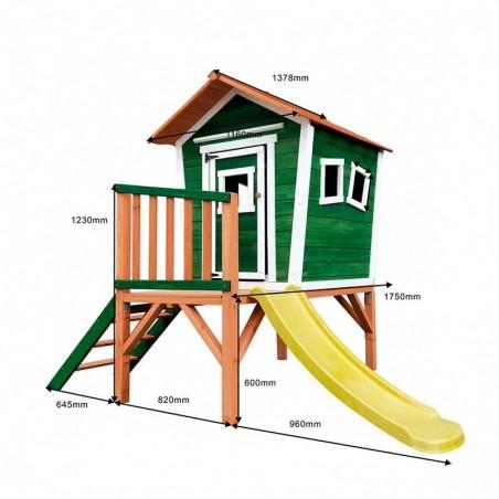 Medidas casita de madera para jardín Nike