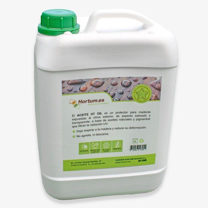 Aceite protector madera 5L. Garden Hortum Oil