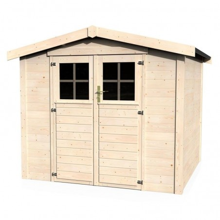 Caseta de jardín Mareuil. 28 mm, 230 x 217 cm, 4,99 m²