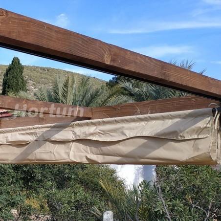Toldo pérgola de madera Aneto 4x3 m - Hortum