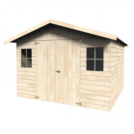 Caseta de madera Solano. 16 mm, 274 x 281 cm, 7,7 m²