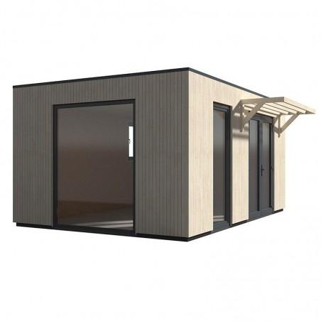 Caseta de madera modular Studio Como 17m2
