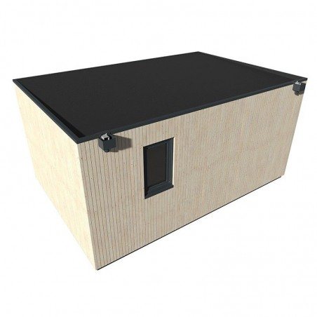 Mini Casa de madera Studio 17 m2
