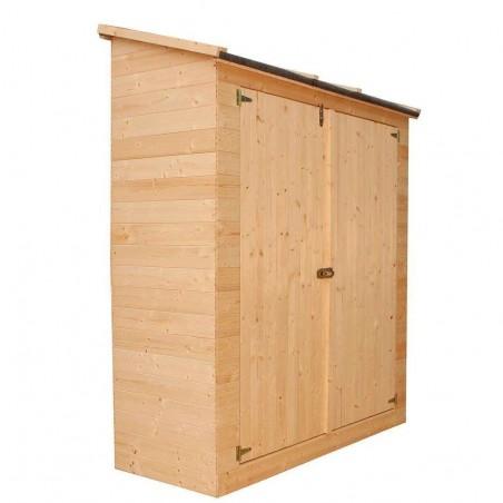 KG12101 - Armario de madera Marge. Armario para jardín