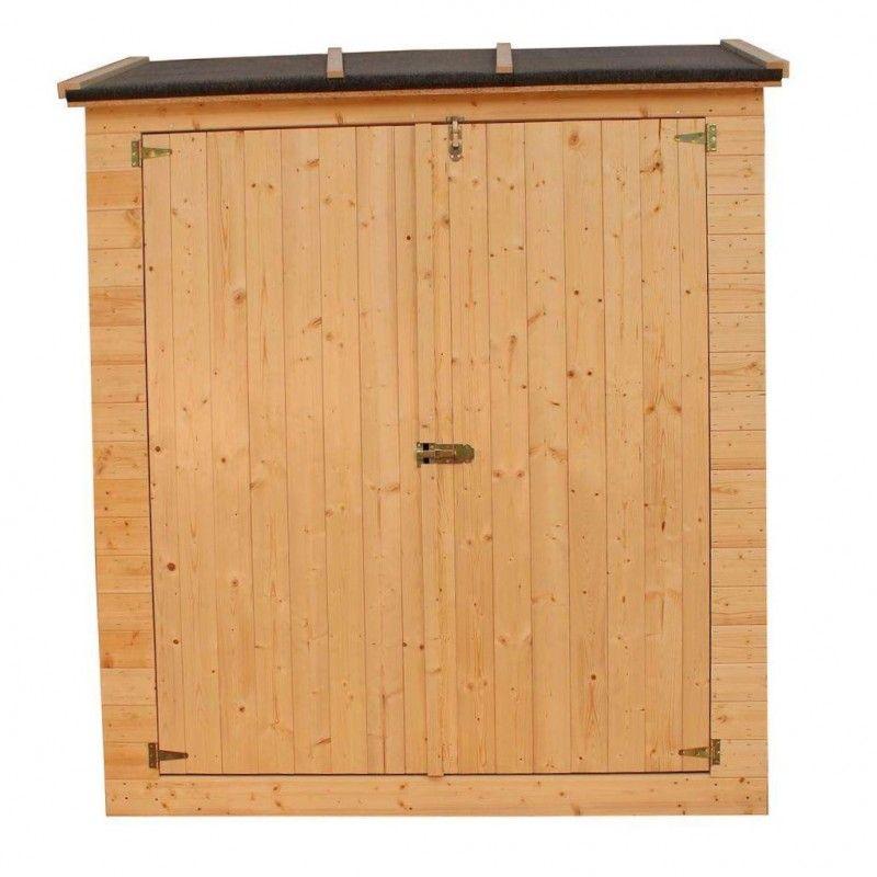 KG12101 - Armario de madera Marge. Armario de madera para jardín