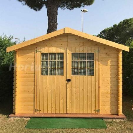 Caseta de madera Gran Flodova. 28mm, 3x3m, 8.88 m2