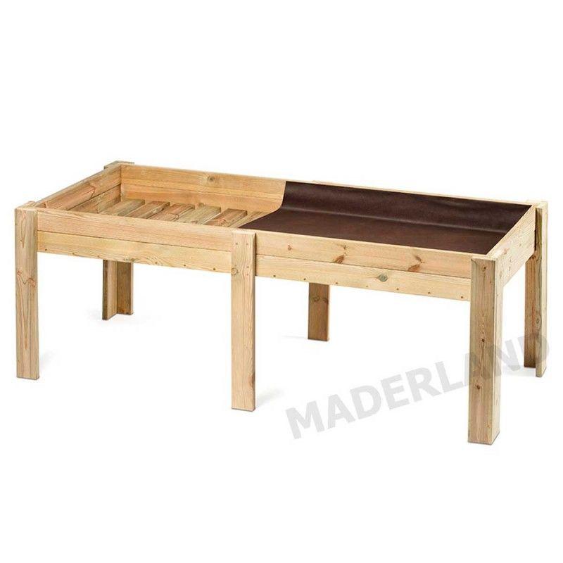 Huerto Urbano. 28 mm, 205x85x75 cm