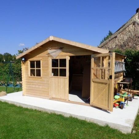 Caseta de madera Manil, útil para guardar trastos