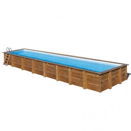 Piscina de madera prefabricada 1218 x 427cm