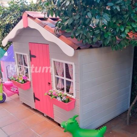 Teja para casita de madera infantil Elsa