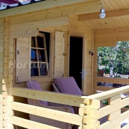 Porche caseta madera Emma 101885 PALMAKO