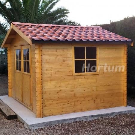 Tejas asfálticas fiorentino para casetas de madera