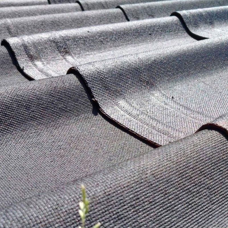 Kit teja asfáltica negro para garaje prefabricado de madera Brisa