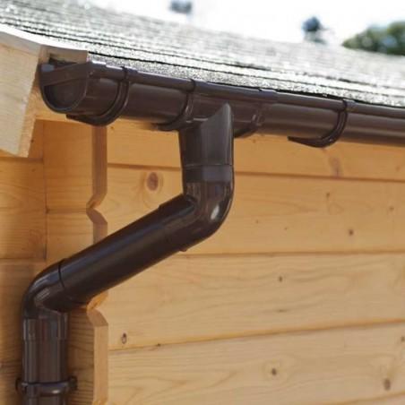 Tubos de desagüe para casetas de madera 4m