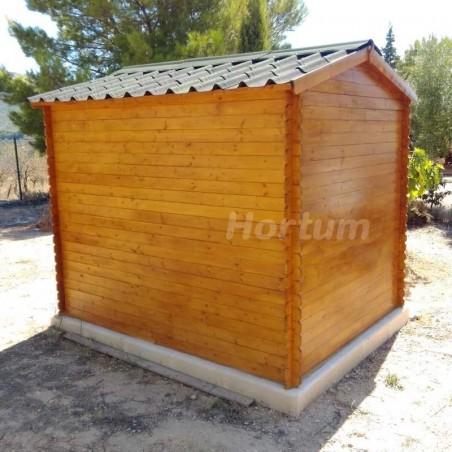 Caseta de madera para jardín Alexander II 19 mm. 200 x 250 cm. 5 m²