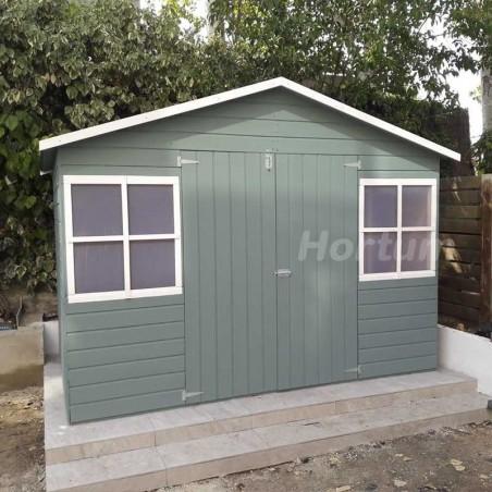 Caseta de madera Fresno 12 mm, 272 x 182 cm. 4.96 m²