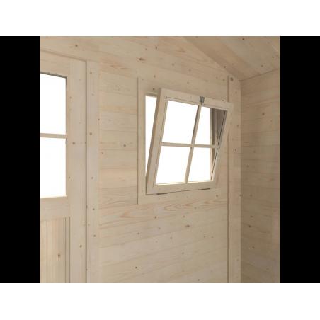 Complemento ventanas casetas de madera