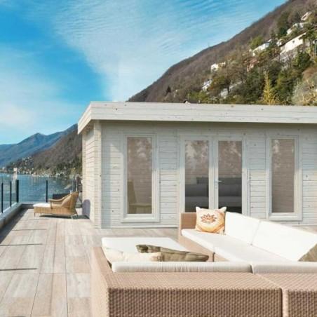 Caseta de madera para jardín Bret 22,55m²