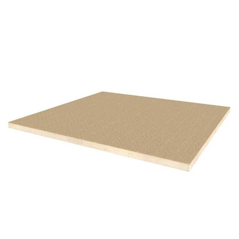 Suelo para MINICASA de madera 9.81m²