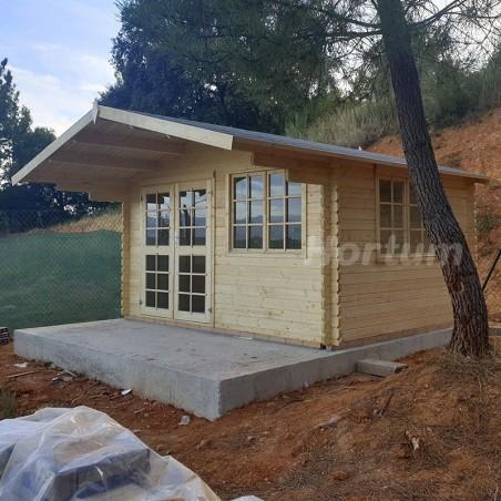 Caseta de madera England 1 - Cabaña de madera hortum.es