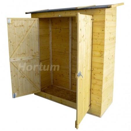 Interior del Armario de madera para jardín Marge
