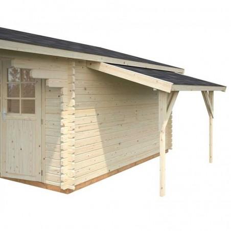 Alero lateral para casetas de madera