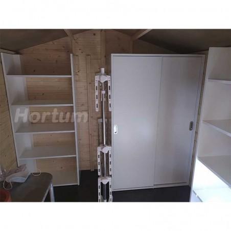 Organización interior caseta de madera Lode - Hortum.es