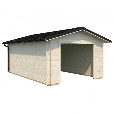 Garaje Tomas sin puerta, 34mm, 360 x 550 cm, 19.20m²