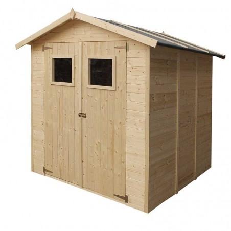 Caseta de jardín 2x2 m. Caseta de madera Tallín.