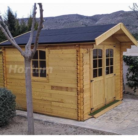 Caseta de madera para jardín 3x3m