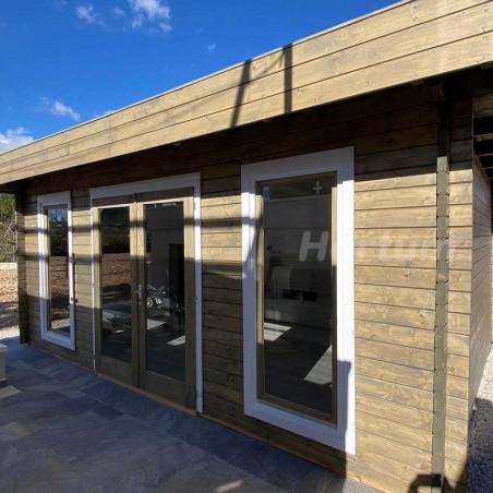 Caseta de madera 550x410cm